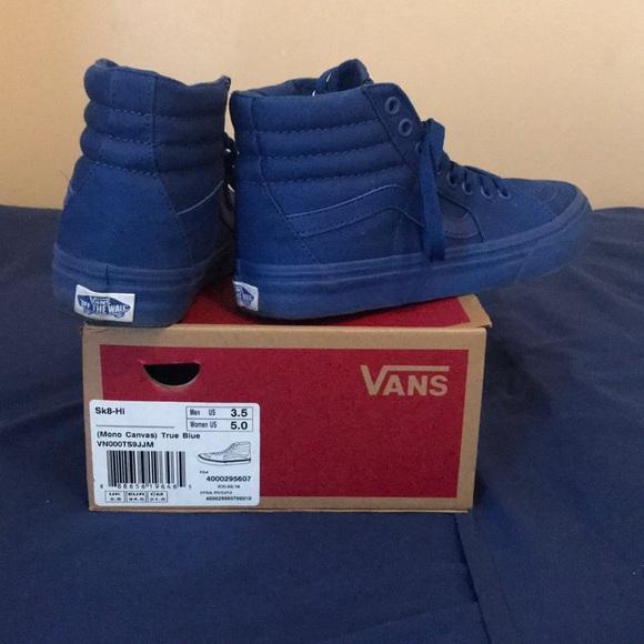 all dark blue vans Limit discounts 62
